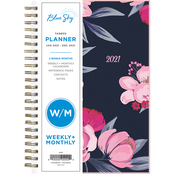 Blue Sky Publishing Mimi Pink Frosted 5 x 8 in. 2021 Planner