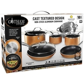 Gothan Steel Copper Cast 10 pc. Nonstick Cookware Set