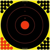 Birchwood Casey Shoot-N-C 17.25 In. Bull's-eye Target, 5 Pk.
