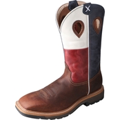 Twisted X Texas Flag Lite Cowboy Work Boots