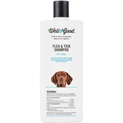 Well & Good Flea and Tick Treatment Shampoo for Dogs and Puppies 16 oz.