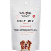 Well & Good Adult Chicken Flavored Daily Multivitamins for Dogs 60 ct.