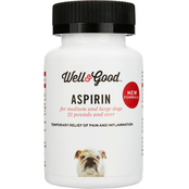 Well & Good Dog Aspirin for Large Dogs 75 ct.