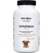 Well & Good Coprophagia Dog Tablets 60 ct.