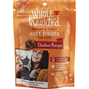 WholeHearted Savory and Tasty Chicken Recipe Soft Cat Treats 3 oz.