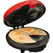 Nostalgia Home Taco Tuesday Deluxe 6 Wedge Electric Quesadilla Maker