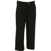 JW Solid Wide Leg Cropped Pants