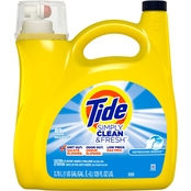 Tide Simply Clean and Fresh Liquid Laundry Detergent, Refreshing Breeze