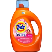 Tide with Touch of Downy Liquid Laundry Detergent, April Fresh
