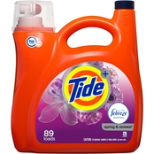 Tide Plus Febreze Freshness Spring and Renewal HE Turbo Clean Laundry Detergent