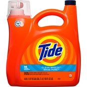 Tide HE Liquid Laundry Detergent, Clean Breeze