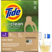 Tide PurClean Honey Lavender Liquid Laundry Detergent Eco Box