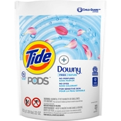 Tide Pods Free and Gentle with Downy, 23 ct.
