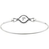James Avery Memoir Initial Hook On Bracelet