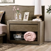 Furniture of America Bridgewater Collection Nightstand