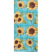 Kay Dee Designs Fall Harvest Sunflower Fields Dual Purpose Terry Towel