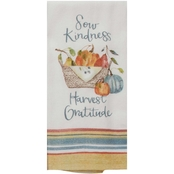 Kay Dee Designs Fall Harvest Time to Share Sow Kindness Dual Purpose Terry Towel