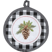 Kay Dee Designs Joy in Winter Embroidered Potholder