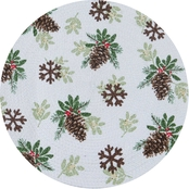 Kay Dee Designs Joy in Winter Braided Placemat