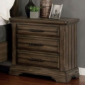 Furniture of America Gilbert Collection Nightstand