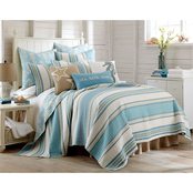 Levtex Home Blue Maui Quilt Set