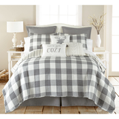 Levtex Home Camden Grey Quilt Set