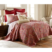 Levtex Home Spruce Red Quilt Set