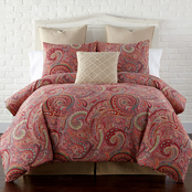 Levtex Home Spruce Red Duvet Cover Set