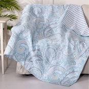 Levtex Home Spruce Spa Quilted Throw