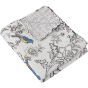 Levtex Home Mockingbird Quilted Throw
