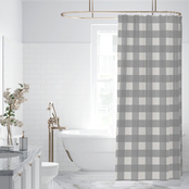 Levtex Home Camden Grey Shower Curtain