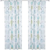 Levtex Home Biscayne Window Curtain Drape Panel 55 x 84 in.