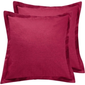 Levtex Home Spruce Red Euro Sham 2 pc. Set