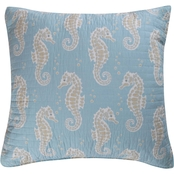 Levtex Home Blue Maui Euro Sham Set of 2