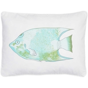 Levtex Home Biscayne Fish Screenprint Pillow