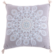 Levtex Home Spruce Spa Print Tassel Pillow