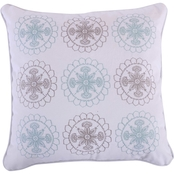 Levtex Home Spruce Spa Multi Medallion Pillow
