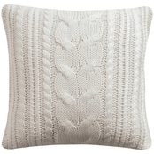 Levtex Home Camden Knit Cream Pillow