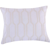 Levtex Home Spruce Spa Embroidered Scroll Pillow