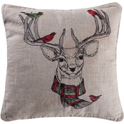 Levtex Home Spruce Deer Pillow