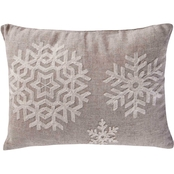 Levtex Home Spruce Snowflake Pillow