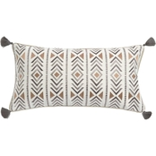 Levtex Home Santa Fe Embroidered with Tassel Pillow