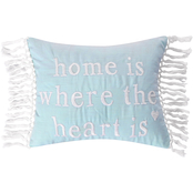 Levtex Home Josie Spa Home is Where Heart Pillow