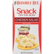Bumble Bee Snack On The Run! Chicken Salad with Crackers
