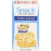 Bumble Bee Snack on the Run Tuna Salad with Crackers