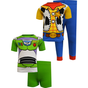 Disney Infant Boys Toy Story Cotton Pajama 4 pc. Set