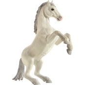 Mojo Realistic Horse Figurine, Rearing White Mustang