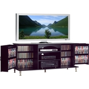 Prepac Premier Flat Panel TV Console with Media Storage