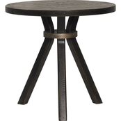 Bassett Woodridge Collection Round Drink Table