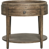 Bassett Woodridge Collection Round End Table